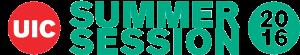 UIC Summer Logo (2016)